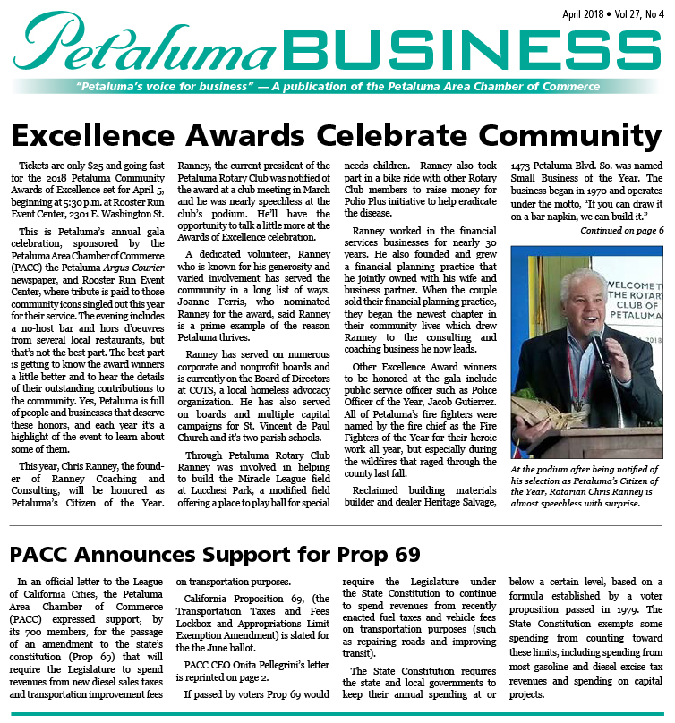 Petaluma Business News May 2016